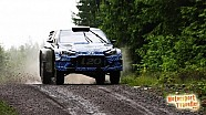 Next generation Hyundai i20 WRC Finland test 2015