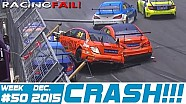 Racing and Rally Crash Compilation Week 50 December 2015