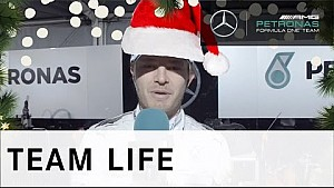 HAPPY CHRISTMAS from Nico Rosberg!