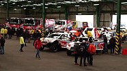 The vehicles of the competitors are boarding for South America! - 2016 Dakar
