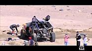 Dakar 2016 - Sebastien Loeb, le immagini dopo l'incidente