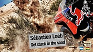 Loeb and Elena get stuck in the sand - Stage 9