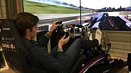 Verstappen practices on Project CARS