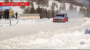 Hyundai Motorsport - Rally Monte Carlo day three highlights