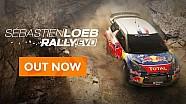 Le trailer de lancement de Sébastien Loeb Rally Evo