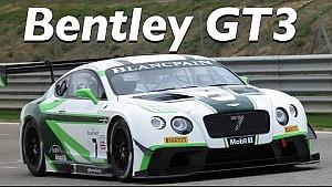 Daniel Abt testet den Bentley GT3