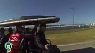 Ride through the Daytona Campground With Bubba Wallace