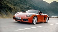The new 718 Boxster. For the sport of it. (Short version)