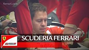 Sebastian Vettel: Sitzanpassung bei Ferrari