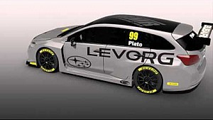 Subaru unveil its BTCC challenger (3D graphics)