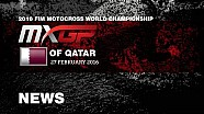 MXGP of Qatar Race Highlights 2016
