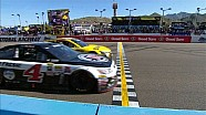 Photo finish: Harvick & Edwards slam doors