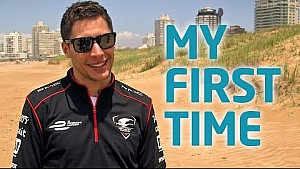 My First Time! w/ Loic Duval - Formula E