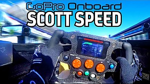 Scott Speed e la Go Pro a Città del Messico