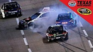 NASCAR-crash met 13 auto's
