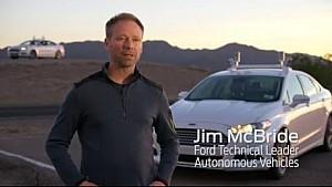 Ford Fusion autonome en test