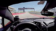 McLaren P1 op COTA