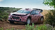 Citroën Racing, test della C3 WRC 2017