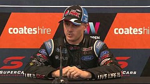 Saturday Press Conference - Coates Hire Sydney 500