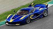 21 Ferrari FXX K's gaan los op het circuit van Mugello