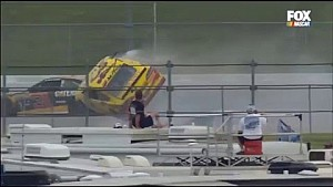 NASCAR Sprint Cup, Talladega: accidente de Chris Buescher