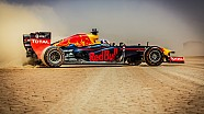 Red Bull Racing F1 Show Car Run -  Jordania