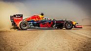 Red Bull Racing F1 Show Car Run - Jordan