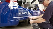 HPD Trackside - Pirelli World Challenge GT COTA Race 2 RealTime Acura TLX-GT