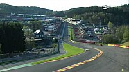Ford GT #66 incidente all'Eau Rouge