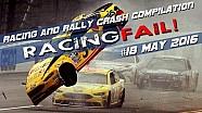 Racing and Rally Crash Recopilación de la semana 18 de mayo de 2016