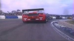 On-board the McLaren F1 GTR - Silverstone - 1996 BPR Global GT Endurance Series