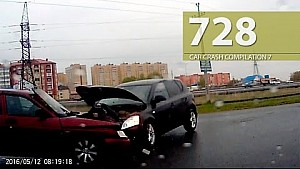 Car Crash Compilation # 728 - May 2016