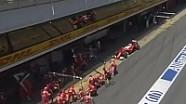 Vettel'in İspanya'daki pit stopu