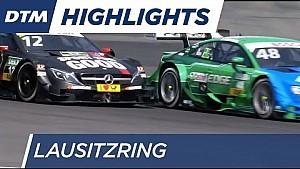 ملخّص السباق الثاني لجولة لاوسيتزرينغ من بطولة دي تي إم