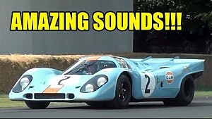 Porsche 917 in Goodwood