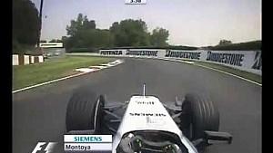 F1 Canadian GP 2005 Circuit Gilles Villeneuve - FP4 - Juan Pablo Montoya Action!