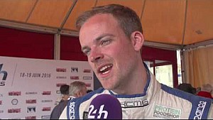 24H of Le Mans 2016 - Interview Matthew Howson (EN)
