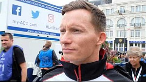 Interview with Mike Conway from Toyota Racing #6 - 2016 24 Hours of Le Mans Pesage
