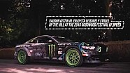 Ford Mustang RTR and Vaughn Gittin Jr. Goodwood Hill Climb 2016