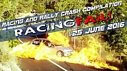 Racing and Rally Crash Compilation Week 25 June 2016