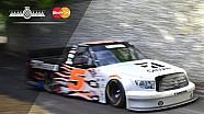 NASCAR Toyota Truck's Heartstopping Hillclimb