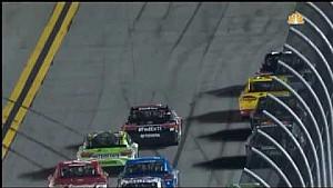 Большая авария в гонке NASCAR в Дайтоне