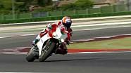 Casey Stoner en el nuevo 1299 Ducati Panigale S Anniversario