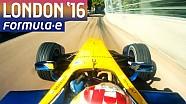 Sébastien Buemi's Onboard Lap In London - Formula E