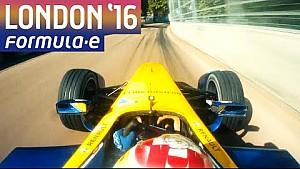 Una vuelta al circuito de Londres con Sébastien Buemi - Formula E