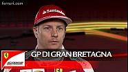 Il GP di Gran Bretagna con Kimi Raikkonen - Scuderia Ferrari 2016