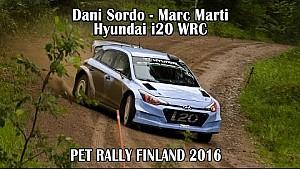 Тесты Дани Сордо в рамках подготовки к Ралли Финляндия 2016 года