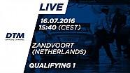 Наживо: Кваліфікація (Гонка 1) - DTM Зандворт 2016