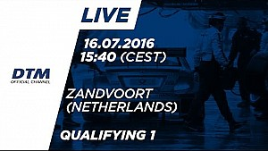 LIVE: Qualifiche (Race 1) - DTM Zandvoort 2016