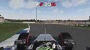 F1 2016 - Caméra embarquée à Hockenheim